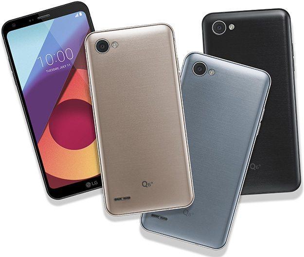 LG Q6 pristatytas su 18:9 ekranu be rėmelių ir Snapdragon 435 SoC