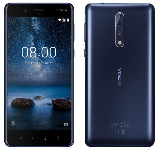 Žvilgsnis į pasirodysiantį Android telefoną – Nokia 8