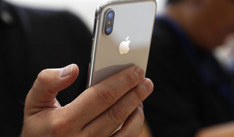 3D jutiklis 2019 m. iPhone telefonuose bus įmontuotas gale
