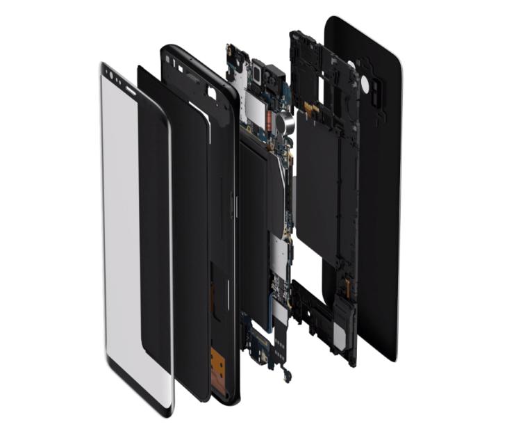 Galaxy S9 Plus turės tokią pačią bateriją, kaip ir jo pirmtakas, bet baterija tarnaus ilgiau