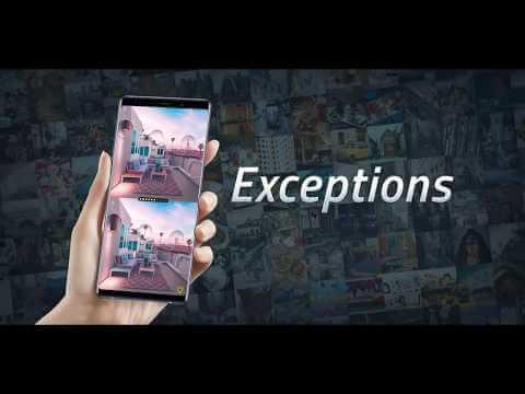 """""""Exceptions"""" – ko gero geriausias mobilus žaidimas žanre """"rask skirtumus"""""""